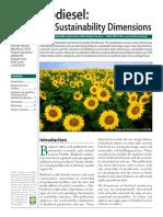 Biodiesel Sustainable