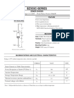 T1 Datasheet DZ BZX55C-Series