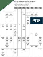 Timetable Cs 2019
