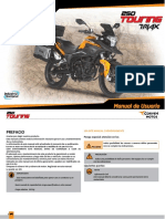 Manual Usuario Triax Touring 250 [108418]
