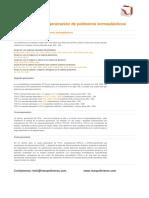 TPV Nueva Generación de Polímeros Termoplásticos