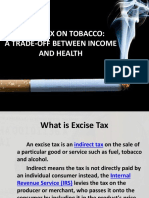 Excise Tax on Tobacco
