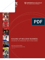 Scaling Up Inclusive Business