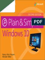 Windows 10 Plain & Simple