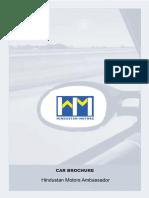 Hindustan Motors Ambassador Grand Brochure