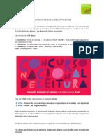 Concurso Nacional de Leitura 2019