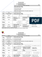 (1)Primary Date Sheet and Syllabus