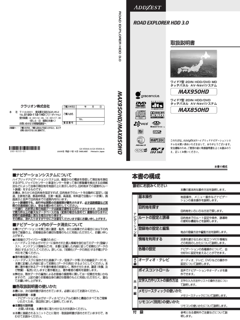 Max850hd Az Manual