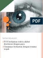 Trauma Optik Neuropati PPT