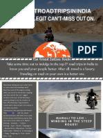Best 27 Best Indian Road Trips