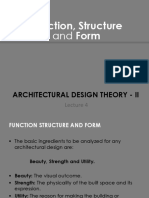 Function Structure And Form