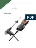 Flue gas analyser Testo.pdf