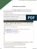 Configurar Un Servidor DNS (Bind)