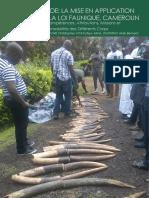 Application de La Loi Faunique Cameroun
