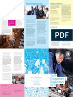 Brochure for Youth Engagement and Employment (YEE) Convergence of the United Nations in Uganda