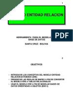 Mapeo Modelo Entidad Relación (ER)