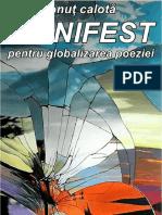 Ionuţ Calotă - Manifest Pentru Globalizarea Poeziei