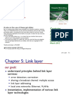 Link Layer - Chapter 5 (ppt)