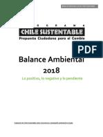 Balance Ambiental 2018