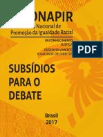 IV CONAPIR_Subsídios Para o Debate_Versão Final