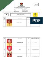 7. Dct Partai Berkarya Dapil 5