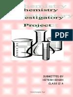 77536605 Chem Project Hitesh