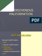 Arteriovenous Malformation.pptx