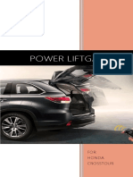 Honda Crosstour Power Liftgate