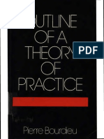 BOURDIEU Outline of a Theory of Practice 1977