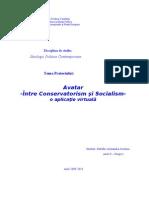 Avatar, Intre Conservator Ism Si Socialism
