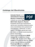 Manual y Catalogo de Electricista