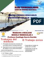 CENTRALES TERMOSOLARES GENERACION DE ENERGÍA ELECTRICA