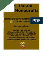 Tcc e Monografia R$ 350,00 tccmonografia247@gmail.com (21)97411-1465Monografia tcc R$ 300 ccpd(10) -fica-converted-converted-compressed
