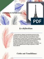Le Francophonie