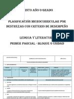 5to Planf Microc. Dcd Lengua 2016-2017