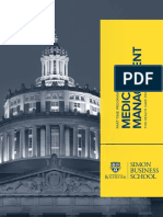 Medical Management Program Brochure 2015