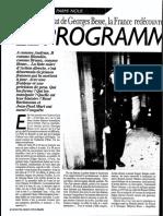 Assassinat Besse 21 Novembre 1986