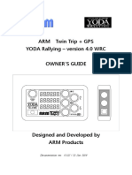 ARM Twin Trip v4 Owners Manual