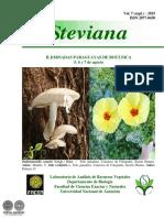 Revista Steviana - Volumen 7 Suplemento - 2015 - Portalguarani