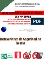 Ley 29783 y Ley 30222