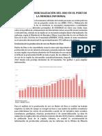 Cadena de Comercialización Del Oro en El Perú de La Mineria Informal