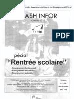 Fapeo Flash Infor Octobre 2010