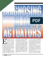 Diagnosing Climate Actuators