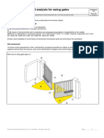 Risk Assessment - Swing Gates for different projects in qpa