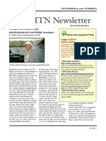 Dec 15 2006  Newsletter Effective Microorganisms Technology