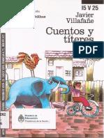 javier villafañe. cuentos y títeres