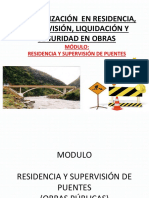 Modulo Residencia y Supervision de Puentes