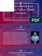 Cicero retorică