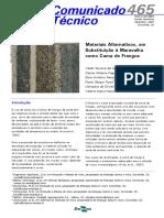 Cot465 Materiais Alternativos p Cama Frangos