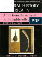 General History of Africa V